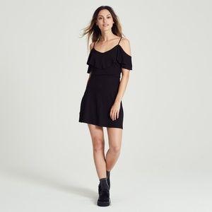 NEW Adam Levine Blk Fit & Flare Flounce Dress XL